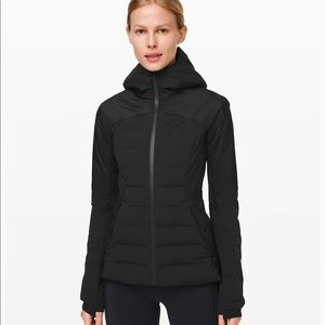 Lululemon Down for it all jacket - black